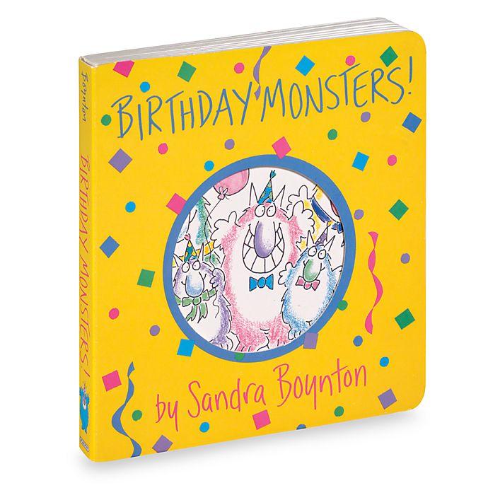 Alternate image 1 for Birthday Monsters! Boynton on Board Book