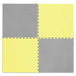 Tadpoles™ by Sleeping Partners Play Mat in Yellow/Grey