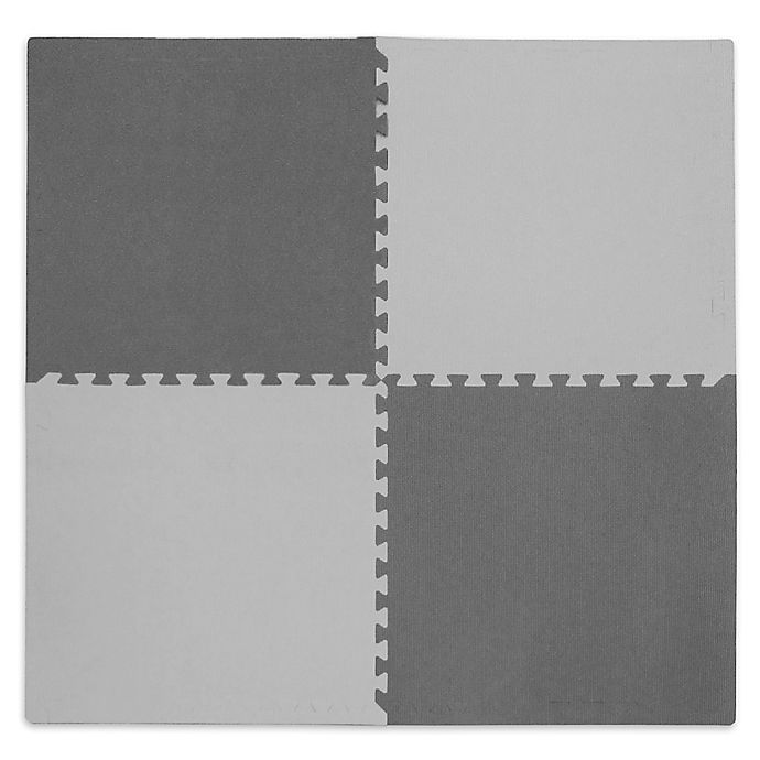 Alternate image 1 for Tadpoles™ by Sleeping Partners Play Mat in Grey