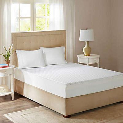 Sleep Philosophy Flexapedic 10-Inch Gel Memory Foam Mattress with Cooling Cover