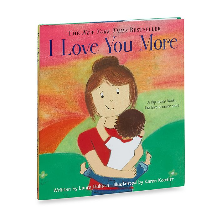 Alternate image 1 for I Love You More Hardcover Book