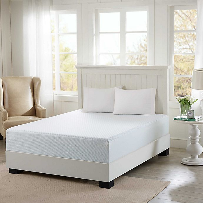 Alternate image 1 for Sleep Philosophy Flexapedic 12-Inch Gel Memory Foam Mattress with Removable Cooling Cover