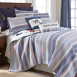 Levtex Home Atlas Reversible Quilt Set