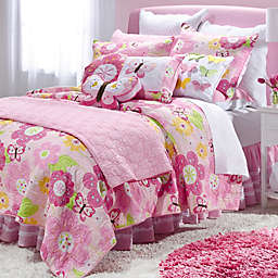 Levtex Home Cecily Reversible Quilt Set in Pink