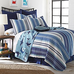 Levtex Home Torri Reversible Quilt Set in Blue