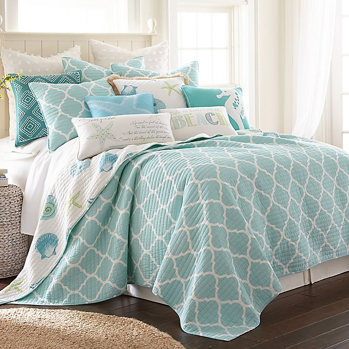 Alternate image 1 for Levtex Home Southport Reversible Full/Queen Quilt Set in Teal