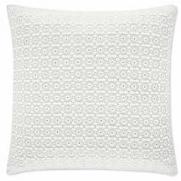 Piper & Wright Ansonia Square Throw Pillow in Off White