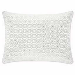 Piper & Wright Ansonia Oblong Throw Pillow in Off White