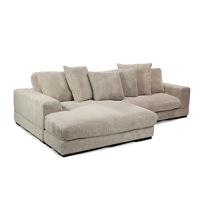 Alternate image 1 for Moe's Home Collection Plunge Sectional in Cappuccino