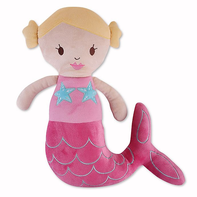 Alternate image 1 for Levtex Home Joelle Mermaid Shape Throw Pillow in Pink