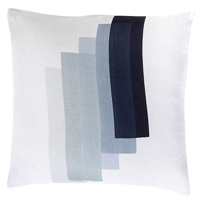 Alternate image 1 for Style Statements by Surya Kelia Square Throw Pillow in Ivory