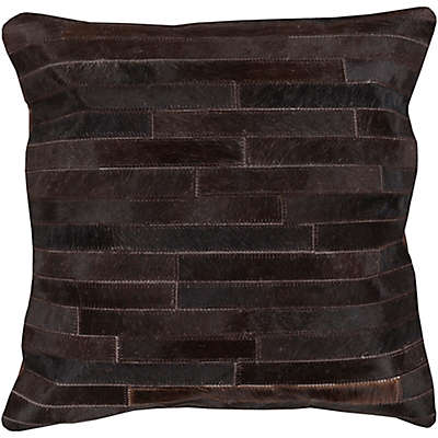 Style Statements by Surya Singalila Square Throw Pillow in Charcoal