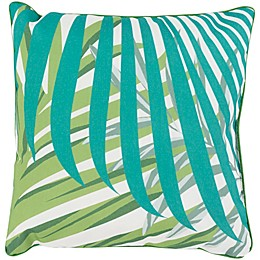 Statements By Surya Graciela Square Throw Pillow in Emerald