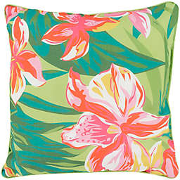 Statements By Surya Ulrike Square Throw Pillow in Hot Pink