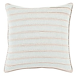 Style Statements by Surya Palermo Square Throw Pillow in Slate