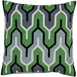 Style Statements by Surya Reynosa 18-Inch Square Throw Pillow