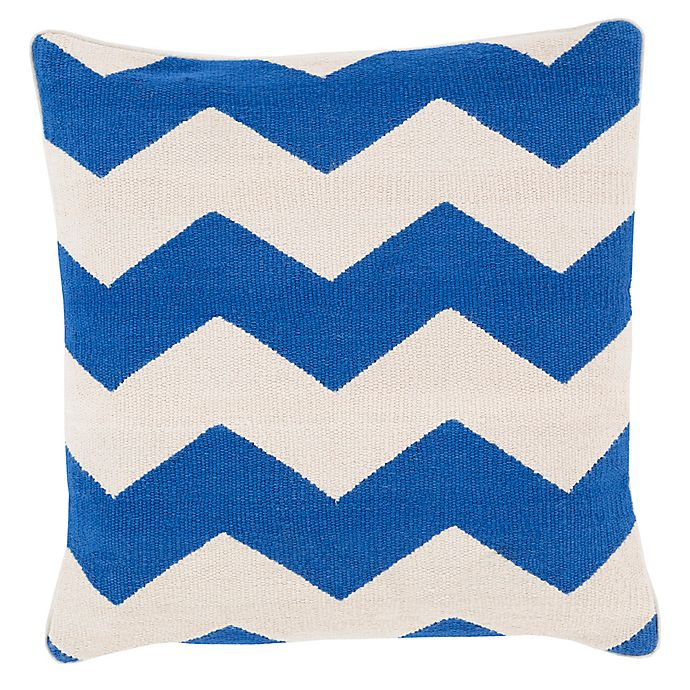 Alternate image 1 for Style Statements by Surya Arzamas 18-Inch Square Throw Pillow in Cobalt