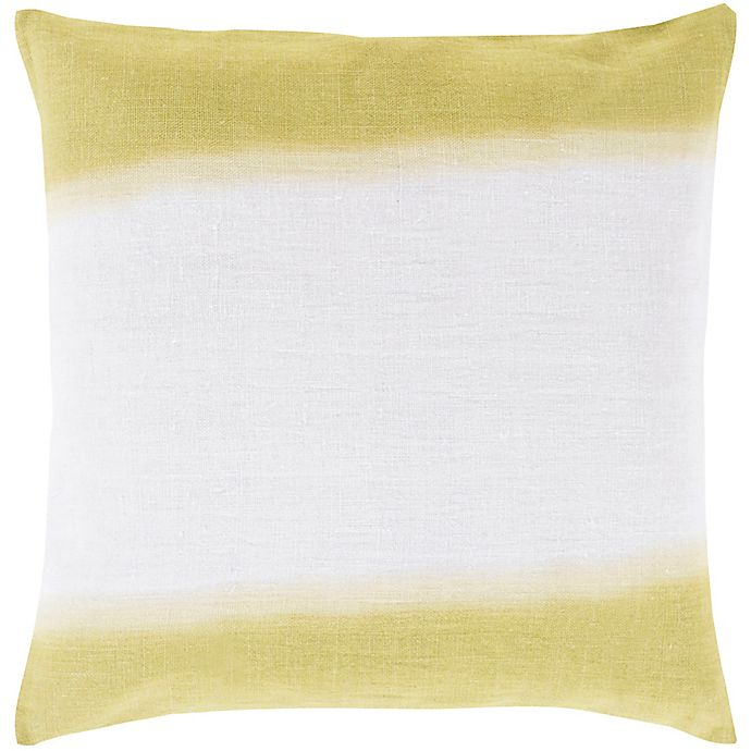 Alternate image 1 for Style Statements by Surya Robbinston 18-Inch Square Throw Pillow in Light Grey