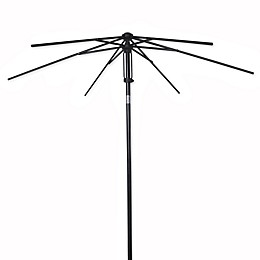 7.5-Foot Round Steel Umbrella Frame in Bronze