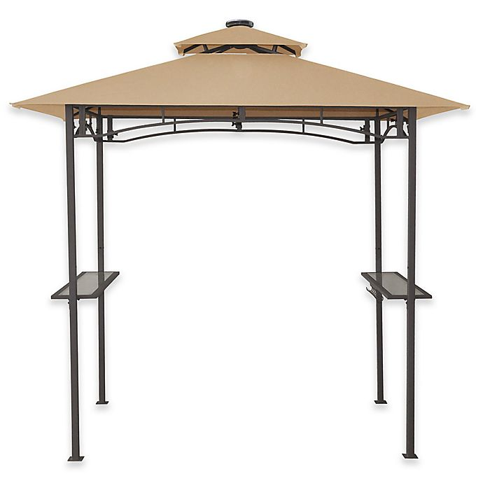 8 Foot X 5 Foot Grillzebo Replacement Canopy In Beige