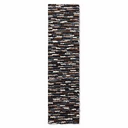 Mohawk Home Augusta Collection Mesa 2-Foot x 7-Foot 10-Inch Runner in Black