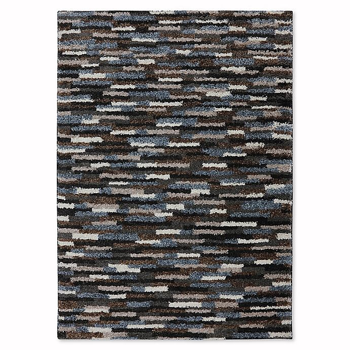 Alternate image 1 for Mohawk Home Augusta Collection Mesa Rug in Black