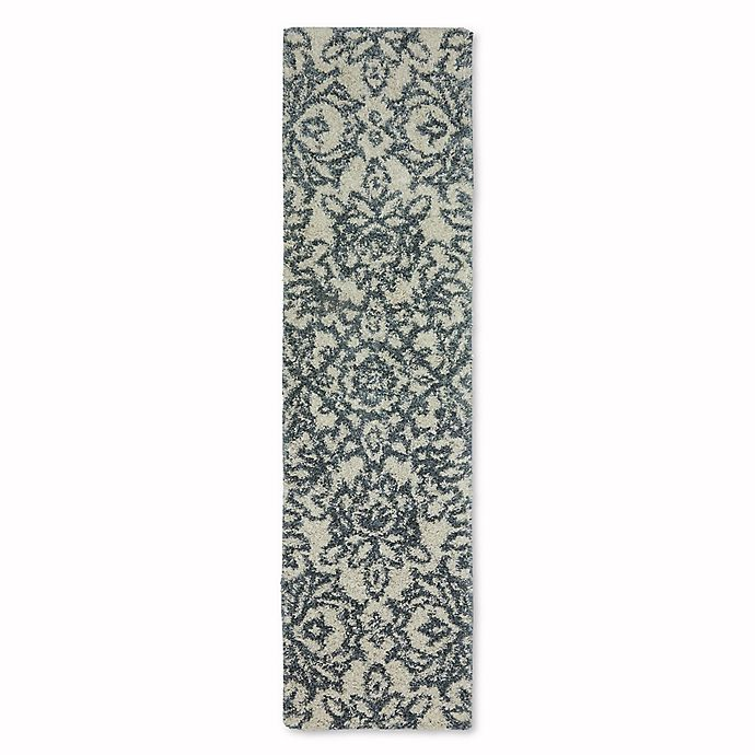 Alternate image 1 for Mohawk Home Augusta Collection Spokane 2-Foot x 7-Foot 10-Inch Runner in Blue