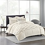 Urban Habitat Sunita Full/Queen Duvet Cover Set in White