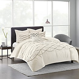 Urban Habitat Sunita 5-Piece Twin/Twin XL Comforter Set in White