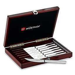 Wusthof® Presentation Stainless Steel 8-Piece Steak Knife Set