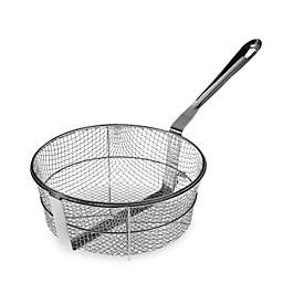 All-Clad Stainless Steel Gourmet Accessories 6-Quart Wire Mesh Fry Basket