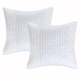 Levtex Home Arielle European Pillow Shams (Set of 2)