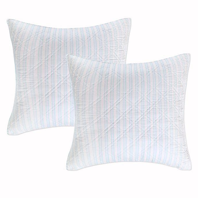 Alternate image 1 for Levtex Home Arielle European Pillow Shams (Set of 2)