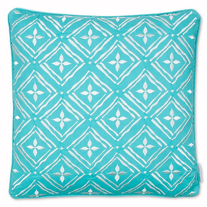 Alternate image 1 for Levtex Home Arielle Embroidered Geo Throw Pillow