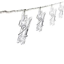 Clothespins 16-Led String Lights