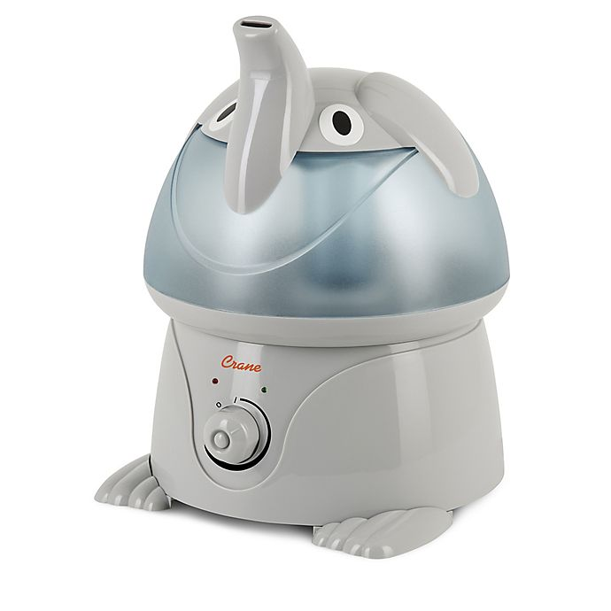 Alternate image 1 for Crane Adorable Elephant Ultrasonic Humidifier