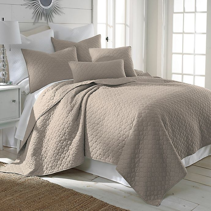 Alternate image 1 for Levtex Home Salerno Full/Queen Quilt Set in Taupe
