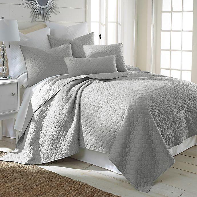 Alternate image 1 for Levtex Home Salerno King Quilt Set in Light Grey