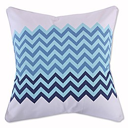 Levtex Home Sea Point Chevron Square Throw Pillow in Blue