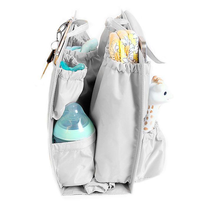 Alternate image 1 for Life In Play ToteSavvy Diaper Bag Insert in Grey