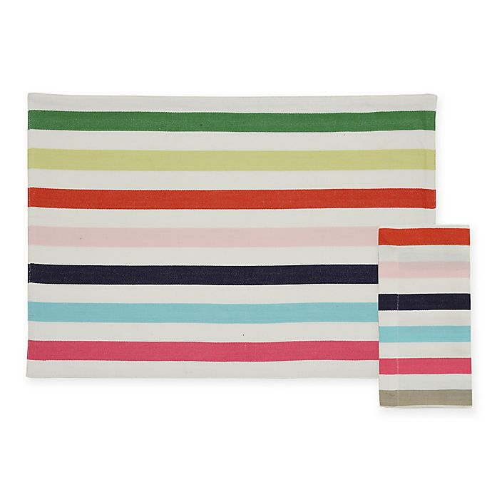 Alternate image 1 for kate spade new york Candy Shop Placemat and Napkin Collection