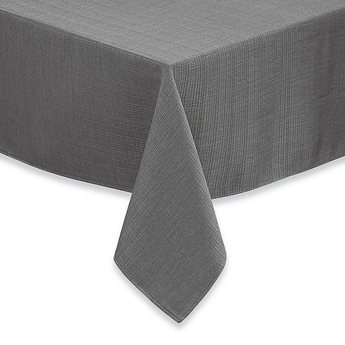 Alternate image 1 for Noritake® Colorwave  70-Inch x 140-Inch Tablecloth in Slate