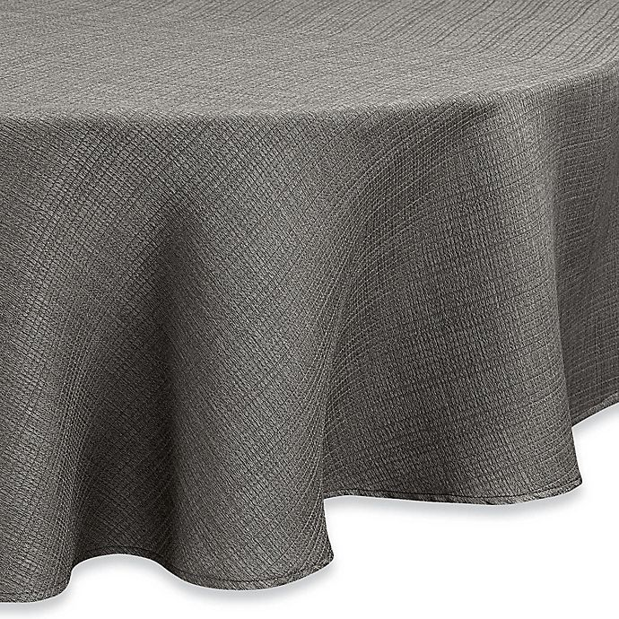 Alternate image 1 for Noritake® Colorwave  70-Inch Round Tablecloth in Slate