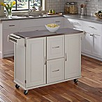 Dolly Madison Patriot Kitchen Cart in White