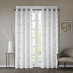 Regency Heights® Cosma 108-Inch Grommet Window Curtain Panel in White