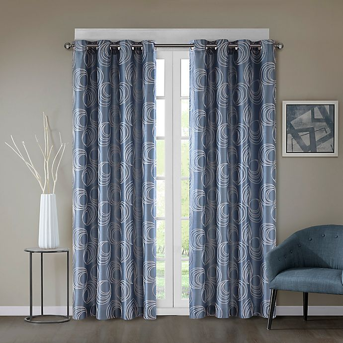 Alternate image 1 for Regency Heights® Cosma Grommet Window Curtain Panel