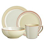 Denby USA Heritage Veranda 4-Piece Place Setting in Yellow