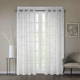 Regency Heights® Cosma Sheer Grommet Window Curtain Panel in White
