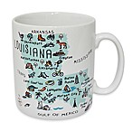 My Place  Louisiana  Jumbo Mug