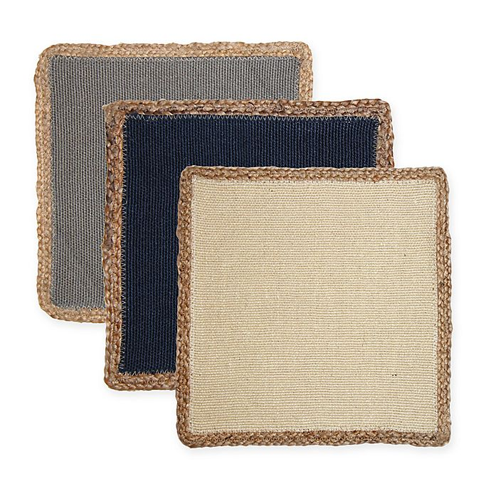 Alternate image 1 for Jute Square Placemat